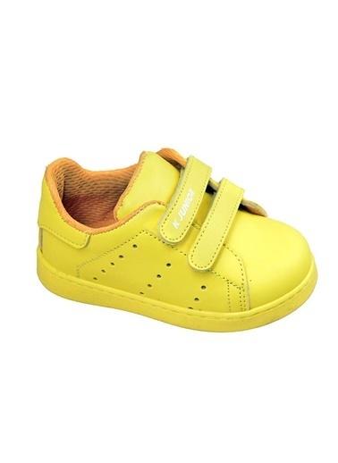 Kaptan Junior Spor Ayakkabı Sarı